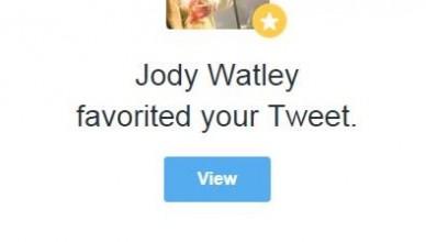Jody Watley Twitter Post