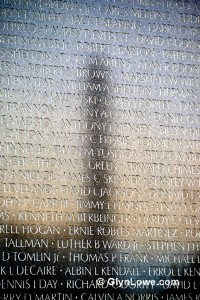 The Vietnam Veterans Memorial Wall