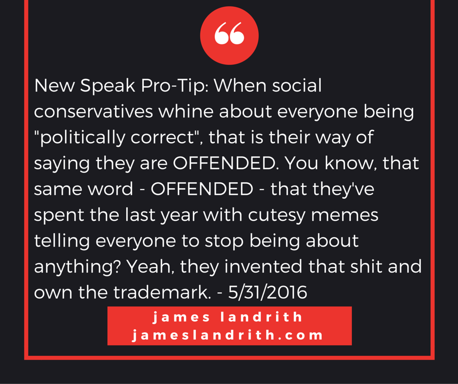 Politically Correct and Offended